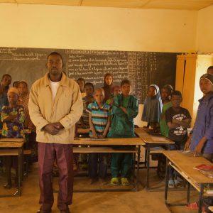 Image of Souleyman Hamani, Betarmatas Elementary School Director